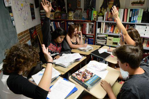 Jeffco Schools, Wheat Ridge High School AP US History class