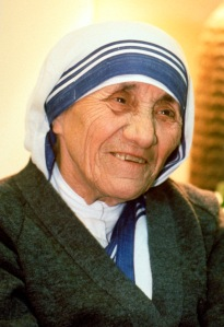 FILE PHOTO OF BLESSED MOTHER TERESA