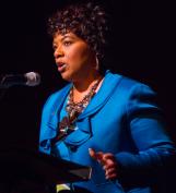 Bernice_King_at_LBJ_Presidential_Library_and_Mueseum,_2014